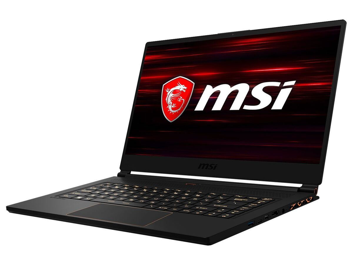 "Bild 3 von MSI GS65 8SF-264DC Gaming Laptop - 15"" FHD / i7-8750H / 16GB RAM / 512GB SSD / RTX 2070 8GB / Win 10 Home"