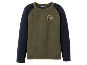 LUPILU® Jungen Strickpullover, warm, mit Baumwolle
