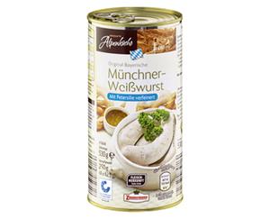 HERZHAFTE Alpenküche Münchner Weißwürste