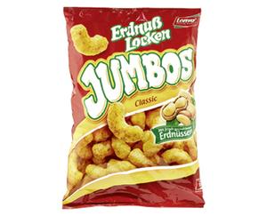 Lorenz Erdnußlocken Jumbos oder Loopy's