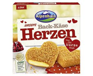 Alpenhain Back-Käse-Herzen