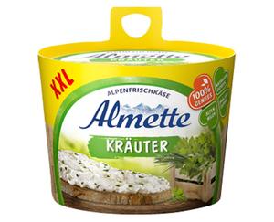 Almette XXL-Frischkäse-Fass
