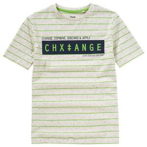 Jungen T-Shirt im Melange-Look