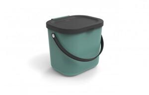 Rotho Mülltrennungssystem Albula 6 L ,  Recyclingbehälter, 23,5 x 20 x 20,8 cm