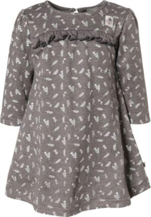 Baby Jerseykleid mit Langarm grau Gr. 92 Mädchen ...