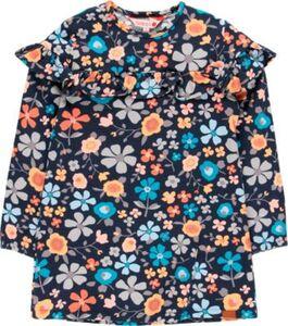 Kinder Jerseykleid dunkelblau Gr. 140 Mädchen Kinder