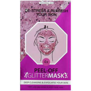 Peel-off Glitzer-Gesichtsmaske