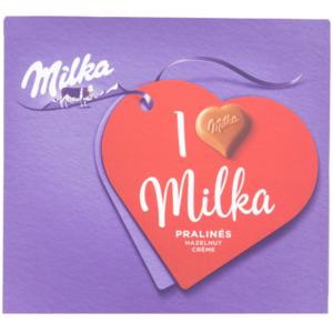 I love Milka Schokolade