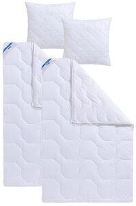 4-Jahreszeitenbett + Kunstfaserkissen, »Tencel Soft«, Beco, 4-Jahreszeiten, Material Füllung: Tencel®, Kunstfaser