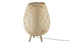 Tischleuchte, 1-flammig, Bambusoptik