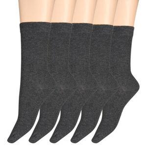 K-Town Socken, 5er Pack, Rippbund, für Damen