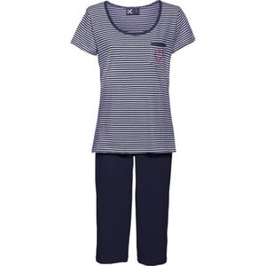 "K-Town Capri-Pyjama ""Talava"", Spitzen-Säume, für Damen"