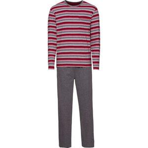 K-Town Pyjama lang, Ringel, Rundhalsausschnitt, für Herren