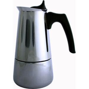 K-Town Espressokocher, 6 Tassen, silber