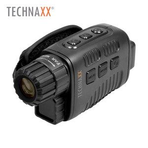 Nachtsicht Aufnahmegerät TX-141 · Integriertes Display · Foto- und Videoaufnahme in HD-Auflösung · 4-facher Digitalzoom · Sichtweite bei vollständiger Dunkelheit bis zu 200-300m · microSD™-