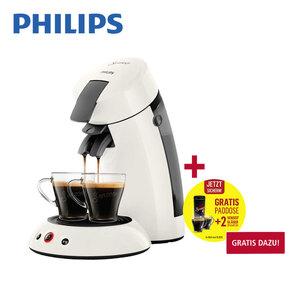 Kaffee-Padautomat HD 6553/12 · Crema-Plus-System · Kaffee-Boost-Technologie · für 1 - 2 Tassen/Becher
