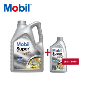Mobil Super XE 5W-30 5 Liter + 1 Liter