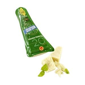 Zanetti Parmigiano Reggiano, mind. 30 Monate gereift 200g oder Grana Padano Riserva, mind. 20 Monate gereift 250g Italienischer Hartkäse 32 % Fett i. Tr., jede 200/250-g-Packung