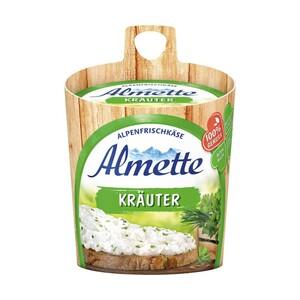 Almette Frischekäsezubereitung 70 % Fett i. Tr./3,9 % Fett absolut, versch. Sorten, jedes 150-g-Fässchen