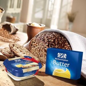 Weihenstephan Butter oder Die Streichzarte gesalzen oder ungesalzen, jede 250-g-Packung