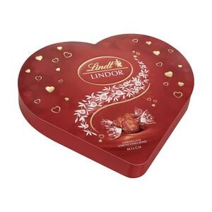 Lindt Lindor Herzbox Milch oder Erdbeer-Sahne jede 325-g-Box