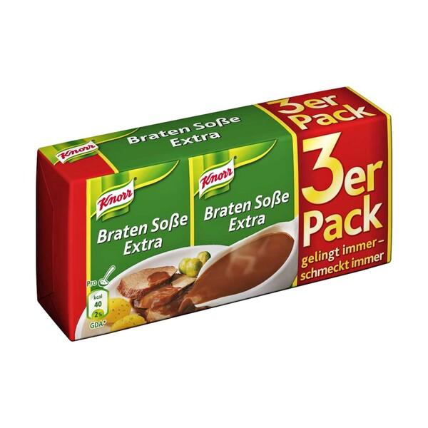 Knorr Basis Soße versch. Sorten, jede 3er-Packung