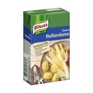 Knorr tafelfertige Saucen versch. Sorten, jede 250-ml-Packung