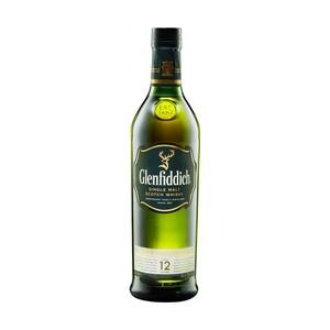 Glenfiddich 12 Jahre Single Malt Scotch Whisky 40 % Vol.,  jede 0,7-l-Flasche