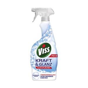 Viss Kraft & Glanz Reiniger Bad & Dusche oder Glas & Flächen jede 750-ml-Flasche