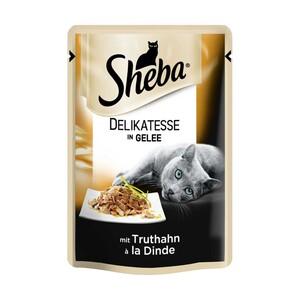 Sheba Katzen-Nassnahrung versch. Sorten,  jede/r 85-g-Schale/Frischebeutel