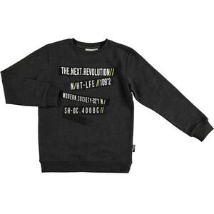 Jungen Sweatshirt mit coolem Schriftprint