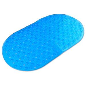 """Badkomfort Badewannenmatte """"Bubble"""", ca. 69 x 33,7 cm - Blau"""