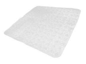 "Badkomfort Duschmatte ""Bubble"", ca. 52 x 52 cm - Transparent Weiß"