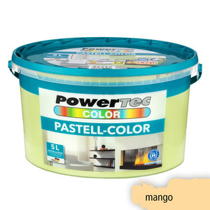 Powertec Color Pastell-Color Wandfarbe, matt - Mango