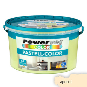 Powertec Color Pastell-Color Wandfarbe, matt - Apricot