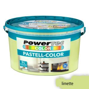 Powertec Color Pastell-Color Wandfarbe, matt - Limette