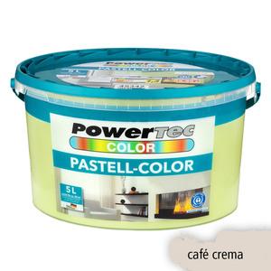 Powertec Color Pastell-Color Wandfarbe, matt - Café Crema