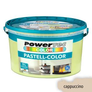 Powertec Color Pastell-Color Wandfarbe, matt - Cappuccino