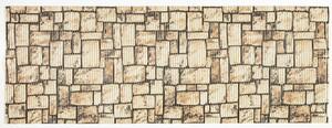 Sensino Allzweckmatte, ca. 65 x 180 cm - Steine braun