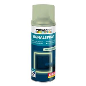 Powertec Color Signalspray - Gelbgrün