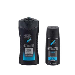 Axe Bodywash Bodyspray Geschenkset Alaska 3-teilig