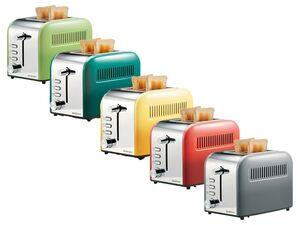 SILVERCREST® Toaster, 1000 Watt, 1 m Kabellänge, mit 6-Stufen-Bräunungsregler