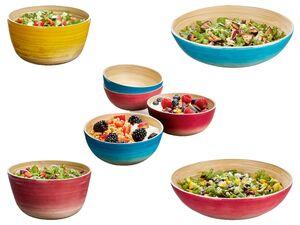 ERNESTO® Salatschüssel, aus Bambusholz