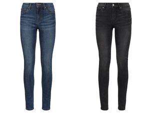 ESMARA®  Jeans Damen, schmal geschnitten, Super-Stretch, normale Leibhöhe, mit Baumwolle