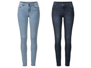 ESMARA®  Super Skinny Jeans Damen, mit Reißverschluss, hoher Baumwollanteil, mit Elasthan