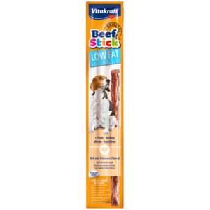 Vitakraft Beef Stick Low Fat mit Pute 12g