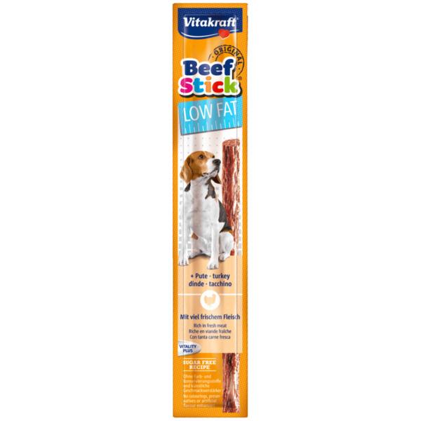 Vitakraft Beef Stick Low Fat mit Pute 12g