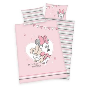 Disney Baby Bettwäsche, ca. 100 x 135cm - Minnie Mouse