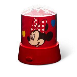Disney Kinder Lichter - Tischlampe mit Stern-Projektor, Minnie Mouse