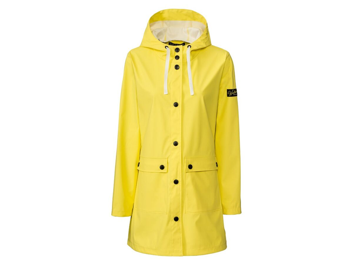 Bild 2 von ESMARA®  Regenmantel Damen, mit 2 Taschen, hoher Stehkragen, weitenverstellbare Kapuze